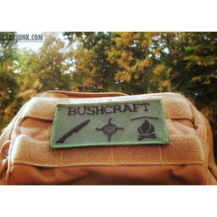 "Patch ""Bushcraft"""