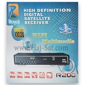 Royal Receiver - R200-HD IPTV&Sat Box +12 Months Abonnement  |  | Artikelnummer: RRB200