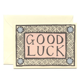 Good Luck Karte  /  Good Luck Card | Cambridge Imprint | Artikelnummer: cambridge_goodluck