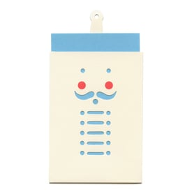 Nußknacker Anhänger-Karte / Nutcracker Hang Tag Card | Cut Out Card | Artikelnummer: cm_nuss