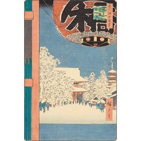 100 famous views of Edo | Kinryūzan temple in Asakusa | Artikelnummer: PODE-KI-10983-A4