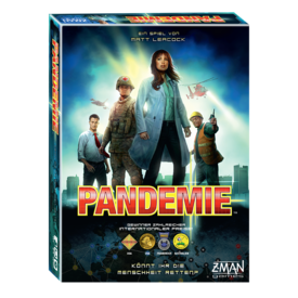 Pandemic | Z-Man Games | Artikelnummer: 4015566025936