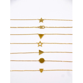 Armband 'Pure Jewels - Minimals' | Stern voll | Artikelnummer: star