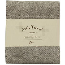Bath Towel Natural Binchotan Charcoal |  | Artikelnummer: E3020