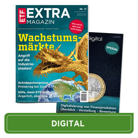 Emerging Markets I Goldminen I Preiskrieg bei ETFs (Digital Version) | Ausgabe November 2018 | Artikelnummer: 201811D