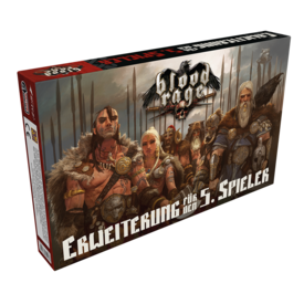 Blood Rage - 5th Player Expansion | CMON - Erweiterung | Artikelnummer: 8435407608849