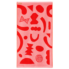 Abstract Shapes Hand Towel, 50x90cm |  | Artikelnummer: BB-Tow-Abst-Repi-Ha