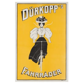 Dürkopp´s Fahrräder | Advertising Poster around 1905 | Artikelnummer: POD-PI-2756