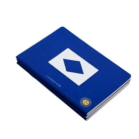 Blue Notes - Notizhefte von Octaevo / Notebooks by Octaevo | Packung à 3 Stück / Pack of 3 | Artikelnummer: blue_notes