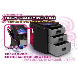 Hudy 1/10 & 1/8 Carrying Bag and Tool Bag |  | Artikelnummer: 199120
