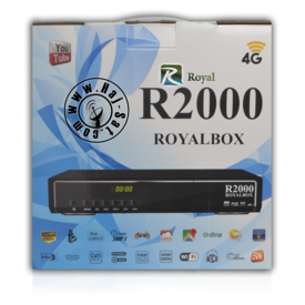 Royal Receiver R2000-HD IPTV&Sat Box +12 Months Abonnement | New 2017 | Artikelnummer: RRB2000