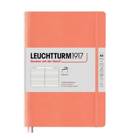 Leuchtturm1917 Notizbuch Pastellorange / Leuchtturm1917 Notebook Muted Colours Orange | Liniert / Ruled | Artikelnummer: Leucht1917-line-orange