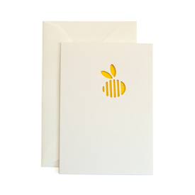 Kleine Karte Biene / Bee Cut Out Card |  | Artikelnummer: cm_bee