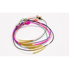 Armband 'Pure Jewels - Rainbow' | schwarz | Artikelnummer: black