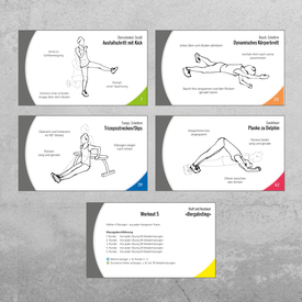 Bodyweight Training Cards | Trainingskarten für zuhause | Artikelnummer: 54