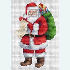 Santa's List - Borduurpakket met telpatroon Orcraphics |  | Artikelnummer: orc-2018-02-45