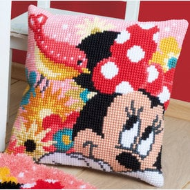 Psst, I Have a Secret - Vervaco Kruissteekkussen - Minnie Mouse - Disney |  | Artikelnummer: vvc-167644
