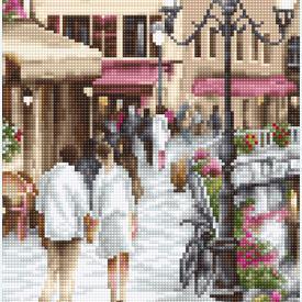 Lake Annecy - kruissteekpakket met telpatroon Luca-S |  | Artikelnummer: luca-b2384