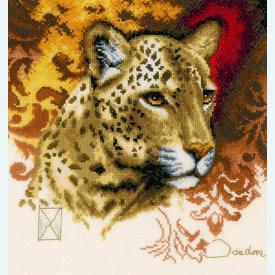 Eyes of Amber by Joadoor - borduurpakket met telpatroon Lanarte |  | Artikelnummer: ln-21225