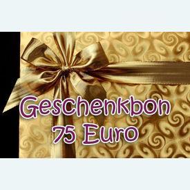 Geschenkbon 75 Euro |  | Artikelnummer: nra-24510-75