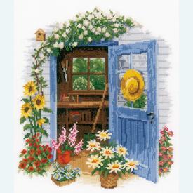 My Garden Shed - handwerkpakket met telpatroon Vervaco |  | Artikelnummer: vvc-169585