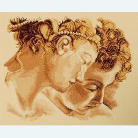 Momento Amore - borduurpakket met telpatroon Vervaco |  | Artikelnummer: vvc-75755