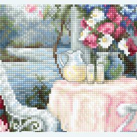 Victorian Memories - borduurpakket met telpatroon Luca-S |  | Artikelnummer: luca-b2378
