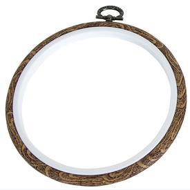 Flexi-hoop - 10 cm | Borduurring en lijst in 1 | Artikelnummer: div-9090