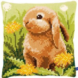 Little Hare - Vervaco Kruissteekkussen |  | Artikelnummer: vvc-154842