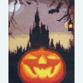 Halloween Night - Borduurpakket met telpatroon Orcraphics |  | Artikelnummer: orc-2015-06-16