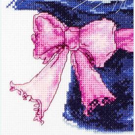 Rabbit - borduurpakket met telpatroon Luca-S |  | Artikelnummer: luca-b2302