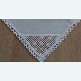 Theenap gebroken wit, geschikt voor hardanger, kruissteek,... | zonder draad - zonder patroon | Artikelnummer: nra-8842