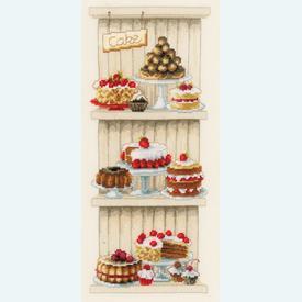 Delicious Cakes - Handwerkpakket met telpatroon Vervaco |  | Artikelnummer: vvc-150672