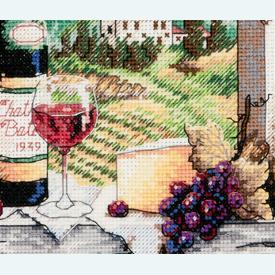 Dreaming of Tuscany - borduurpakket met telpatroon Dimensions |  | Artikelnummer: dim-6972