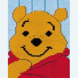 Winnie the Pooh - Vervaco borduurpakket in platsteek, voor kinderen |  | Artikelnummer: vvc-14889