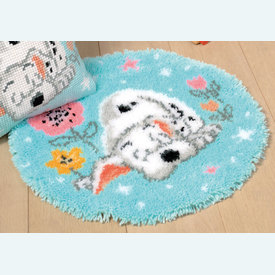 Little Dalmatian - Disney - knooptapijt Vervaco | Smyrna tapijt met kleine dalmatiër - Disney | Artikelnummer: vvc-175268