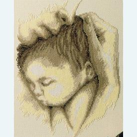 Tenderness - borduurpakket met telpatroon Vervaco |  | Artikelnummer: vvc-75111