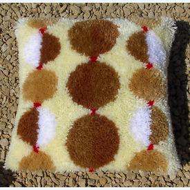 Chain of Balls Cushion Set - bundel van 3 knoopkussens met telpatroon | Limited Edition -- -- op = op | Artikelnummer: nra-21051-bundel