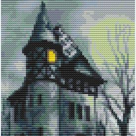 Haunted - Borduurpakket met telpatroon Orcraphics |  | Artikelnummer: orc-2016-02-32