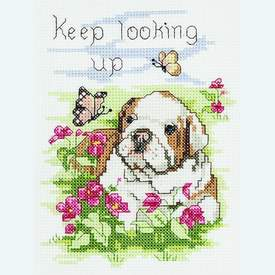 Keep Looking Up - borduurpakket met telpatroon Janlynn |  | Artikelnummer: jl-021.1051