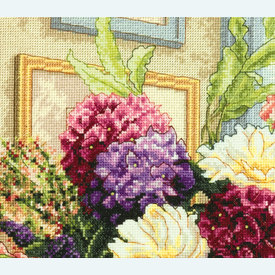 Summer Bouquet - borduurpakket met telpatroon Dimensions |  | Artikelnummer: dim-70.35328