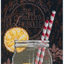 Lemonade Diner - borduurpakket met telpatroon Dimensions |  | Artikelnummer: dim-70-35324