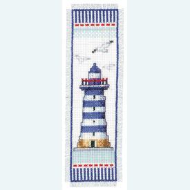 Bladwijzer Lighthouse - kruissteekpakket met telpatroon Vervaco |  | Artikelnummer: vvc-144279