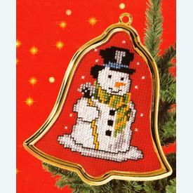 Snowman - borduurpakket met telpatroon Vervaco  |  | Artikelnummer: vvc-40908