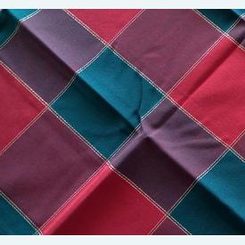 Theenap kerst - rood-groen | zonder draad - zonder patroon | Artikelnummer: nra-9478