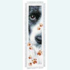 Set van 2 bladwijzers - Cat and Dog - Handwerkpakketten met telpatroon Vervaco |  | Artikelnummer: vvc-155651