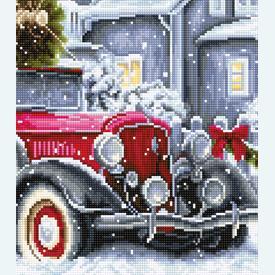 Winter Holidays - borduurpakket met telpatroon Luca-S |  | Artikelnummer: luca-bu4010