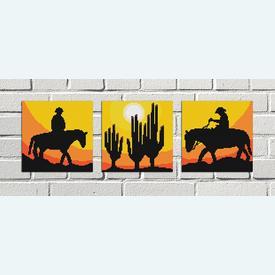 Cactusses Mini - borduurpakket met telpatroon Nafra |  | Artikelnummer: nf-nafra21024