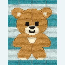 Little Bear - Vervaco borduurpakket in platsteek, voor kinderen |  | Artikelnummer: vvc-172112