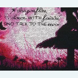 Butterfly Fairy - borduurpakket met telpatroon Dimensions |  | Artikelnummer: dim-70-35337